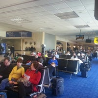 Photo taken at Gate C4 by John W. on 2/28/2013