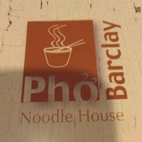 Photo taken at Pho Barclay (Barclay Plaza) by John G. on 11/24/2012