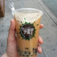 Photo taken at Nine Street Smoothie Bubble Tea by Tim F. on 9/6/2013