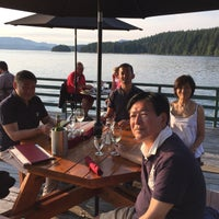 Photo taken at The Dining Room at April Point Resort by Yoshiyuki K. on 8/12/2015