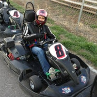 Photo taken at Dallas Karting Complex by Matthew B. on 1/21/2013