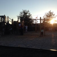 Photo taken at Cannon Beach Playground by Laurel M. on 8/26/2014