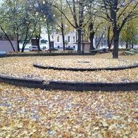 Photo taken at Jēkaba laukums by Martins U. on 10/22/2012