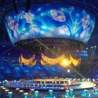 Photo taken at Kazan-Arena by Alisha B. on 7/7/2013