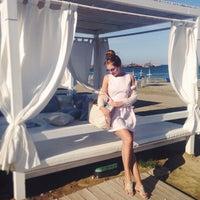 Photo taken at Lush Beach Bar by Alisha B. on 5/10/2014