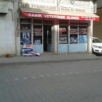 Photo taken at Canik Veteriner Kliniği by Samet E. on 3/2/2016