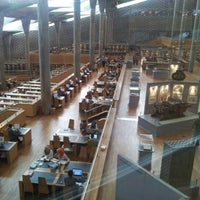 Photo taken at Bibliotheca Alexandrina by Omar E. on 11/3/2012