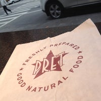Photo taken at Pret A Manger by Ismet S. on 10/28/2012