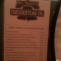 Photo taken at Del Rossi's Cheesesteak Co by Joseph E. on 2/1/2013
