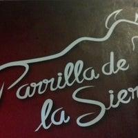 Photo taken at Parrilla de La Sierra by Rafael Henrique T. on 6/13/2013