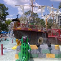 Photo taken at Poolside @ Marriott Harbour Lake by Bill B. on 5/20/2013