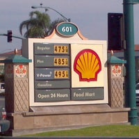Photo taken at Shell by Anthony C. on 10/5/2012