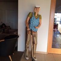Photo taken at Icelandair Hotel Hamar by Lapin C. on 6/12/2014