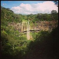 Photo taken at Chamarel Waterfall by Evgeniy M. on 1/5/2013