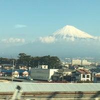 Photo taken at 東海道新幹線 小田原~熱海間(湯河原付近) by K K. on 2/4/2016