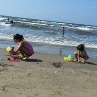 Photo taken at New Damietta Beach by Burcu E. on 8/9/2016