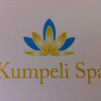 Photo taken at Kumpeli Spa by Satu R. on 8/9/2013