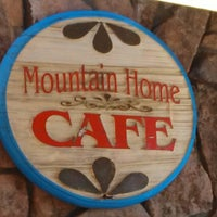 Photo Taken At Mountain Home Cafe By Tommy B On 6 18 2013