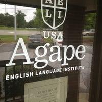 Photo taken at Agape English Language Institute by Jon V. on 6/6/2013