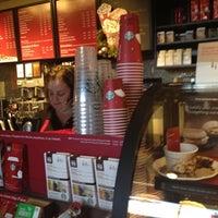 Photo taken at Starbucks by Christina B. on 12/5/2012