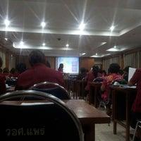 Photo taken at วิทยาลัยอาชีวศึกษาแพร่ by Wittawat J. on 5/14/2014