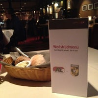 Photo taken at Restaurant Louis Van Gaal by Jacco H. on 1/19/2013