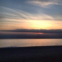 Снимок сделан в Набережная Олимпийского парка пользователем Smyslova E. 12/5/2014