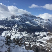 Photo taken at Rifugio Faloria by Sarah B. on 3/1/2016