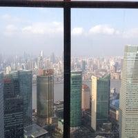 Photo taken at Grand Hyatt Shanghai by Tae-Yeong K. on 12/18/2013