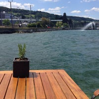 Photo taken at Seerestaurant L'O by Amrita K. on 6/15/2014