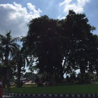 Photo taken at Taman Raflesia (Alun Alun Ciamis) by Vivi Y. on 7/24/2016