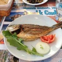 Photo taken at Ayvalık Canlı Balık Restaurant by Mustafa G. on 4/20/2013