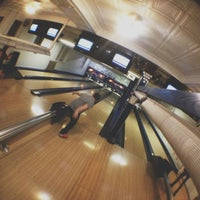 Photo taken at Patterson Bowling Center by Josh F. on 10/20/2012