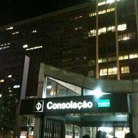 Photo taken at Consolação Station (Metrô) by Sah F. on 1/18/2013