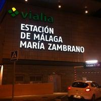 1/29/2013에 Rafael sanchez I.님이 Estación de Málaga-María Zambrano에서 찍은 사진