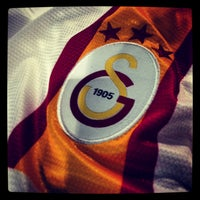 Photo taken at Galatasaray Store by Okan E. on 4/25/2013