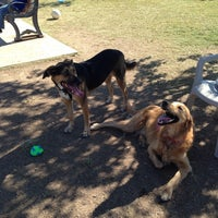 Photo taken at Echo Mountain Dog Park by Tiffany B. on 10/13/2013