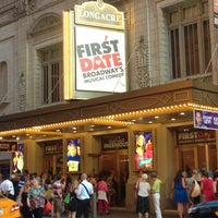 Photo taken at Longacre Theatre by Travis F. on 7/16/2013