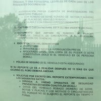 Photo taken at Policia Federal Sector Cuautitlan by Claudia G. on 6/25/2013