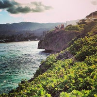 Photo taken at Laie Point by Ben K. on 7/23/2013