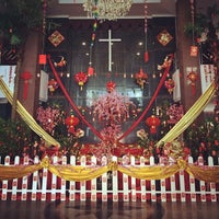 Photo taken at Graha Mawar Saron by Yohannes N. on 1/22/2014