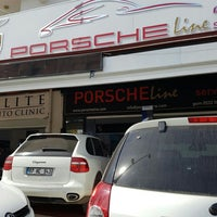 Photo taken at Porsche Line by Ümran Y. on 4/22/2016