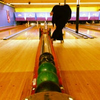 Photo taken at Stoneleigh Duckpin Bowling Center by Melissa L. on 6/13/2013