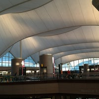 Photo taken at Denver International Airport (DEN) by Celeste M. on 7/8/2013
