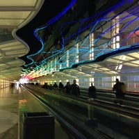 Photo taken at Chicago O'Hare International Airport (ORD) by Eliza on 11/4/2013