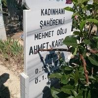 Photo taken at Hocacihan Mezarlığı by Mehmet Fatih K. on 6/25/2017