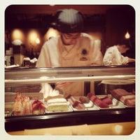 Photo taken at Kisaku Sushi by Boaz A. on 12/3/2012
