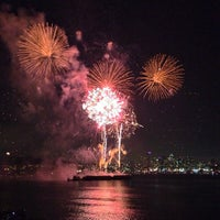 Photo taken at Gas Works Park by Onur K. on 7/5/2013