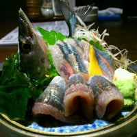 Photo taken at 旬菜・炭焼 玉河 by Taka K. on 10/5/2012