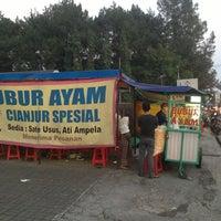 Photo taken at Bubur Ayam Spesial Cianjur by Ahmad F. on 8/9/2013